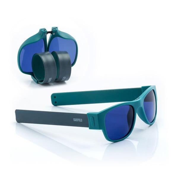 Ochelari de soare pliabili InnovaGoods Sunfold AC4, albastru