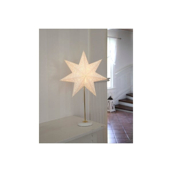 Set svítící lampy a hvězdy Best Season White