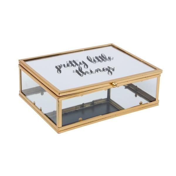 Cutie din sticlă pentru bijuterii Sass & Belle Touch