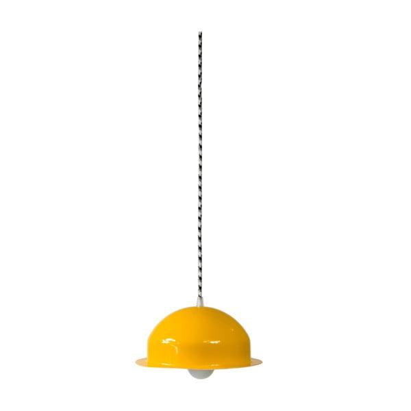 Stropní světlo Steel Pendant, žluté