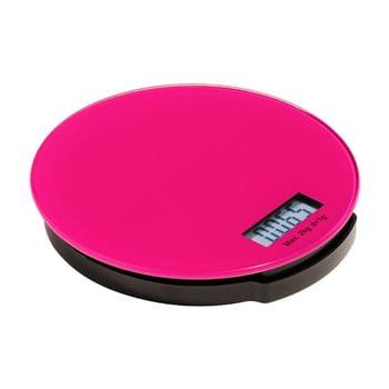 Cântar de bucătărie digital Premier Housewares Zing, roz de la Premier Housewares
