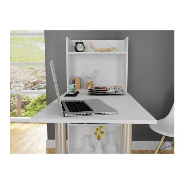 Pracovní stůl Flamingo White