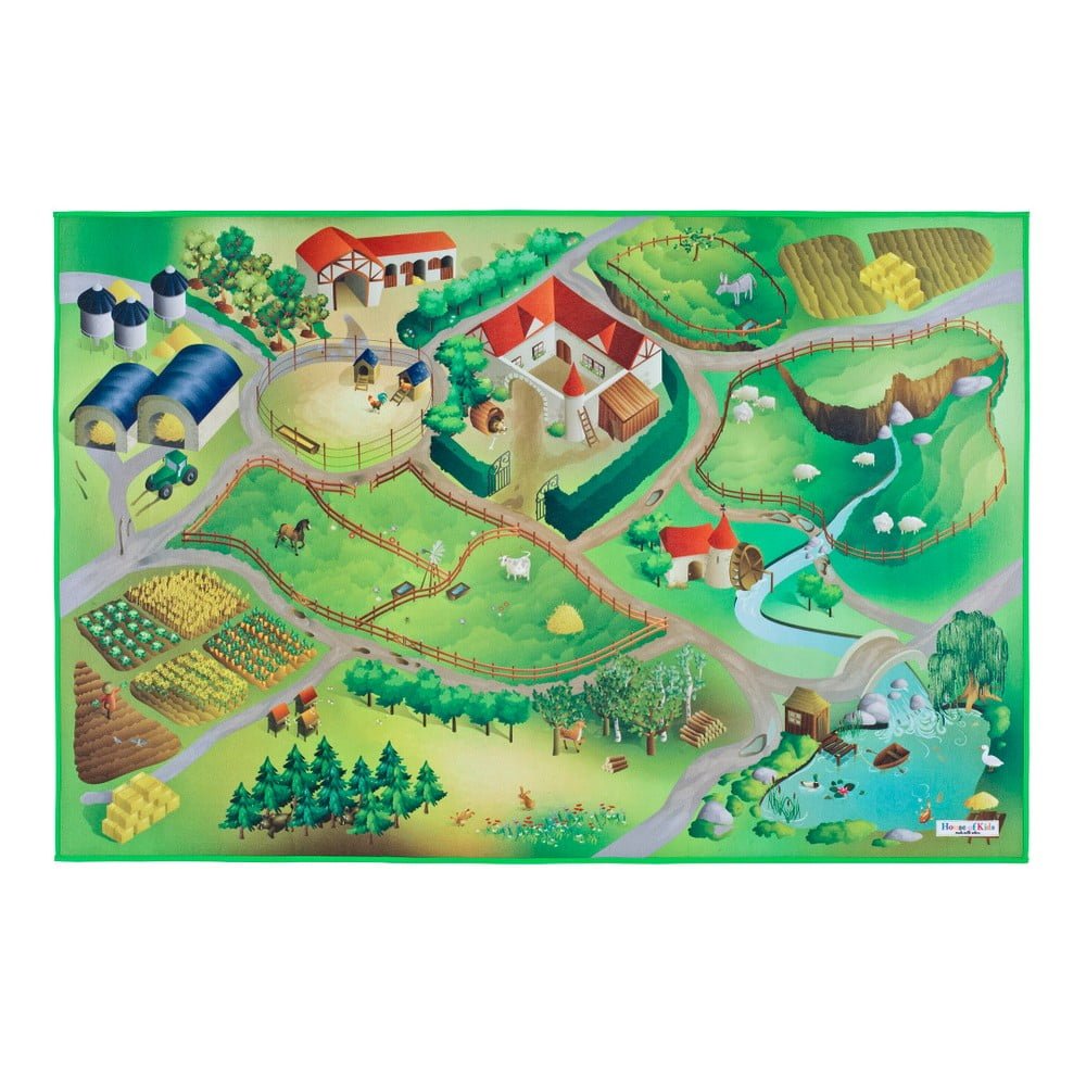 Dětský koberec Universal Grip Farm, 100 x 150 cm