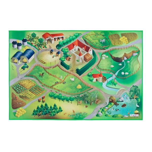 Covor pentru copii Universal Grip Farm, 100 x 150 cm