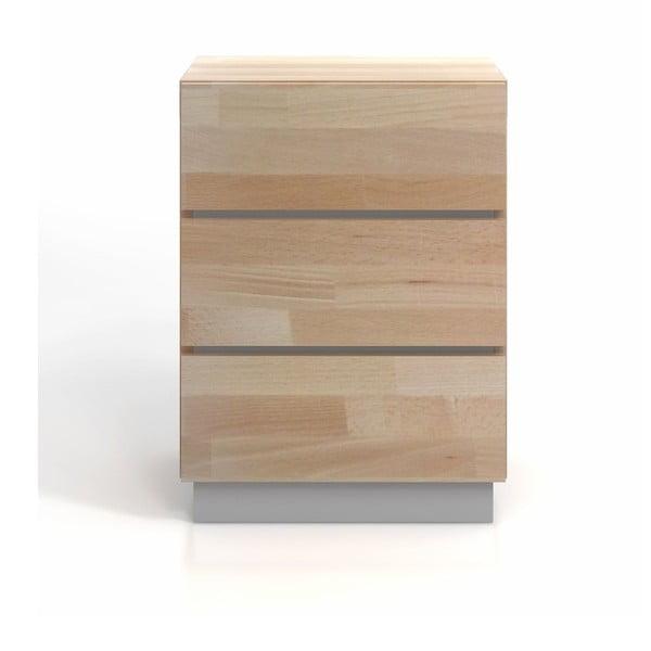 Komoda z bukového a borovicového dreva SKANDICA Finn 3S