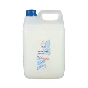 Săpun lichid antibacterian, pachet de familie Kiss Classic, 5 l imagine