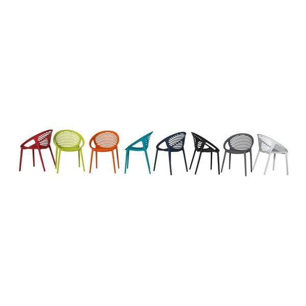 Oranžová židle Canett Elements