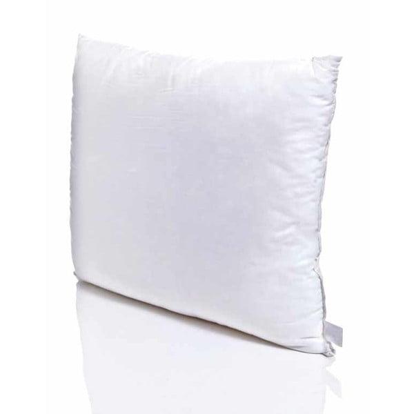 Bavlněný bílý polštář Marvella Parejo, 80 x 80 cm