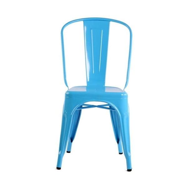 Židle Silla Metal Azur z kavárny U Kubistů