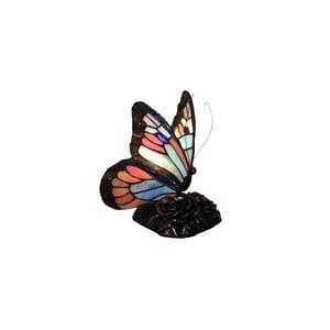 Tiffany Lampa Glass Butterflies Patina