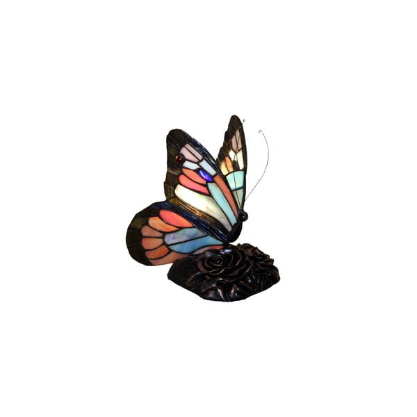 Tiffany Lampa Glass Butterflies Patina