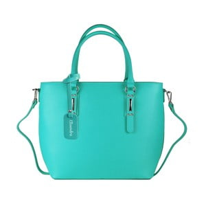 a89fd6642c Mentolově zelená kožená kabelka Maison Bag Dalia