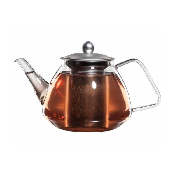 Skleněná konvička na čaj se sítkem bloomix Kaptee
