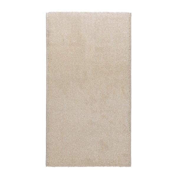 Velur krémszínű szőnyeg, 57 x 110 cm - Universal