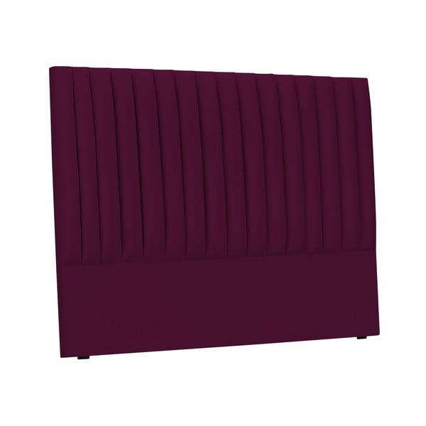 Burgundově červené čelo postele Cosmopolitan design NJ, 200x120cm