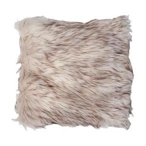 Hnědý povlak na polštář Clayre & Eef Fur