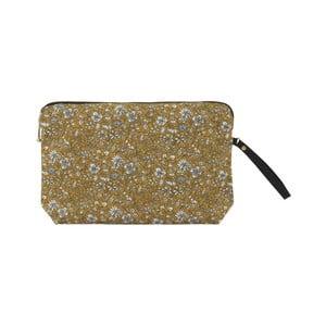 Bavlněná kosmetická taštička A Simple Mess Bodo Golden Yellow, 22x14cm