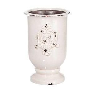 Váza Mediterran White, 24x24x38 cm