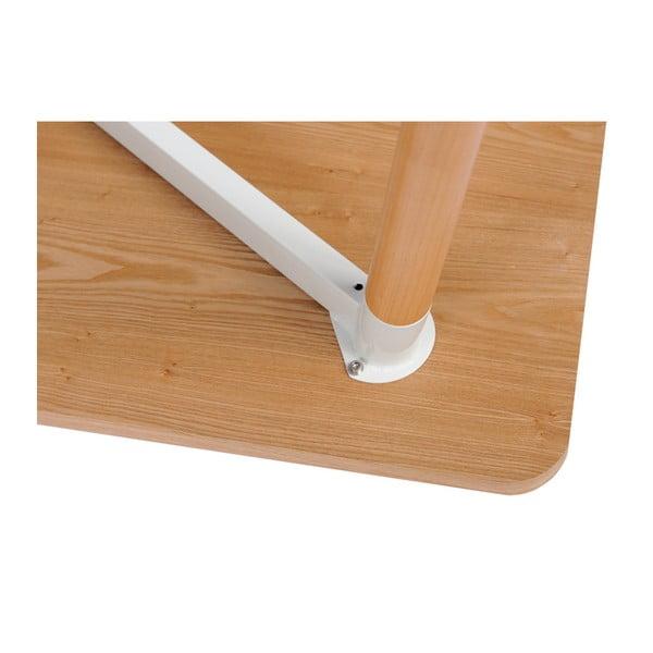 Bukový stůl D2 Copine, 120x80 cm