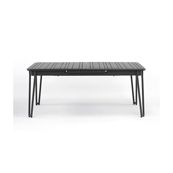 Sivý záhradný stôl pre 6-8 osôb Ezeis Ambroise