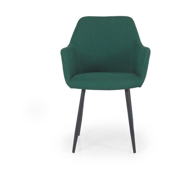 Zielone krzesło Tenzo Linn
