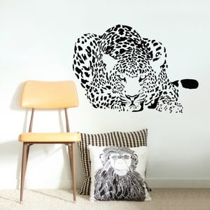 Samolepka na stěnu Leopard, 120x90 cm