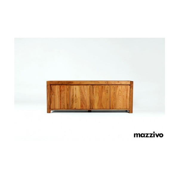 Komoda Mazzivo z olšového dřeva, model 4.2, natural