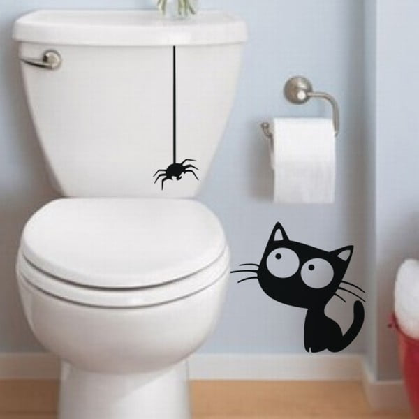 Autocolant Ambiance Cat And Spider
