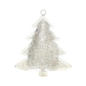 Kovová vánoční dekorace ve stříbrné barvě ASimple Mess Julia Tree