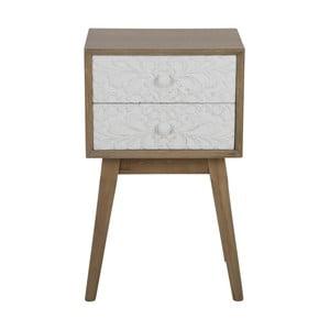 Noční stolek se 2 zásuvkami Mauro Ferretti Tribe