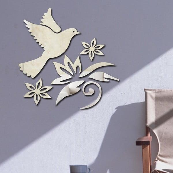 Dekorativní zrcadlo Ptáček
