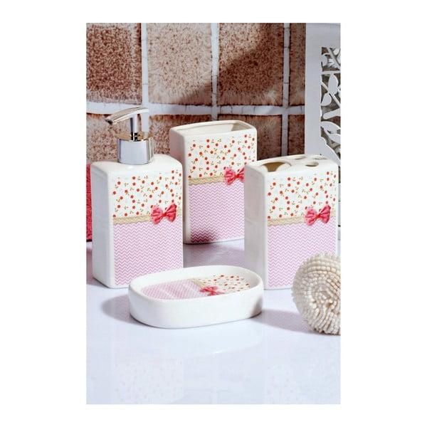 Set kúpeľňových doplnkov Pinky