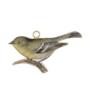 Kovová dekorace ve tvaru ptáčka A Simple Mess Gera