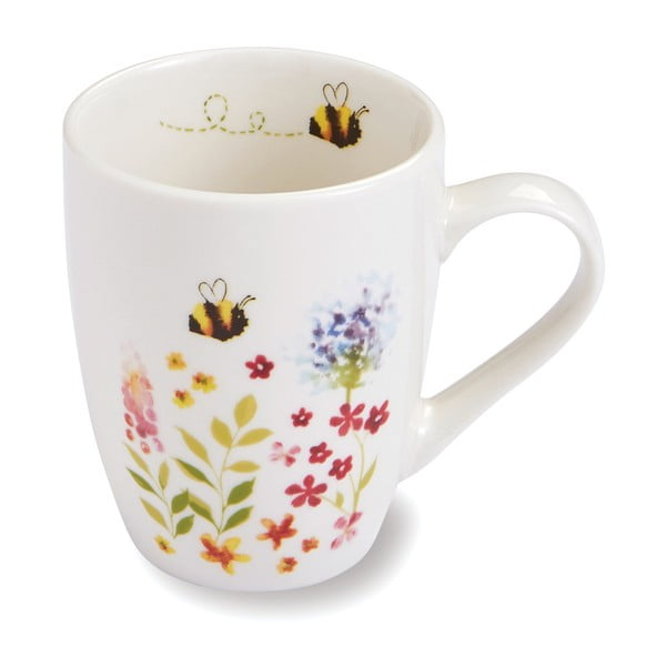 Porcelanowy kubek Cooksmart ® Bee Happy, 350 ml