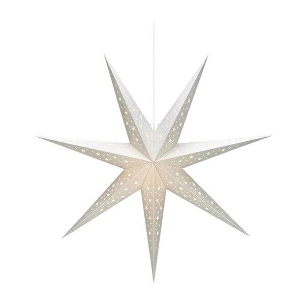 Biała wisząca dekoracja świetlna Markslöjd Solvalla, wys. 75 cm