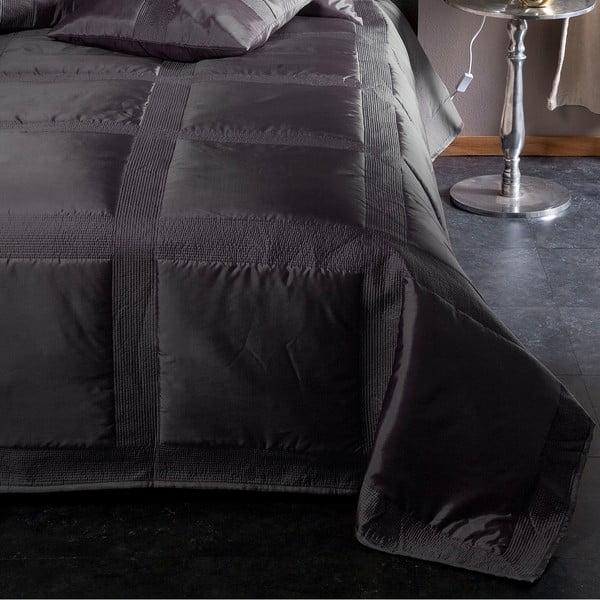 Přehoz přes postel Montana Anthracite, 270x270 cm