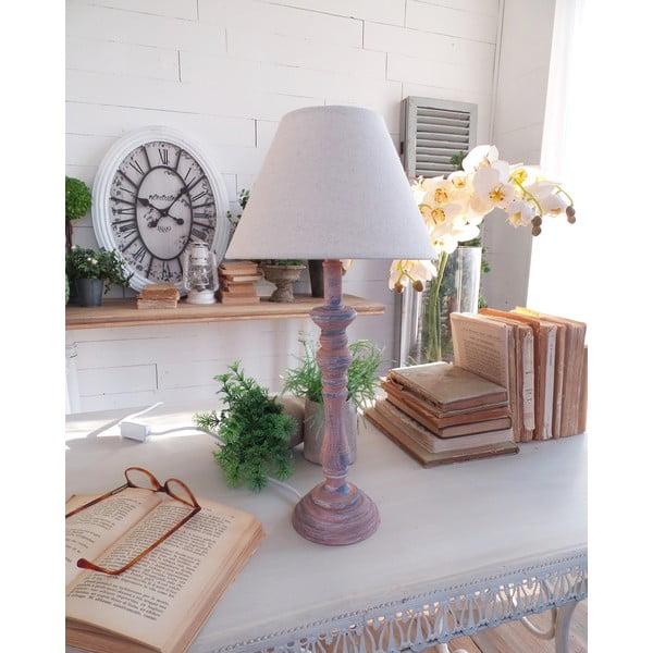 Stolní lampa Rusty Blue, 22x44 cm