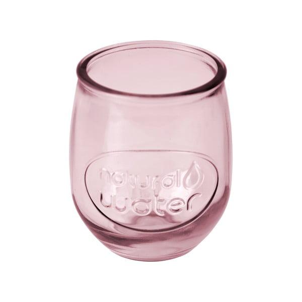Růžová sklenice Ego Dekor Water, 0,4 l