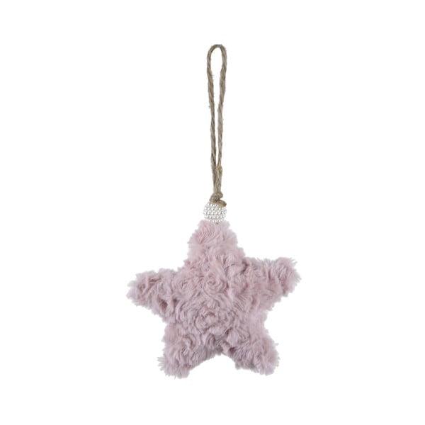 Závesná textilné ozdoba v tvare hviezdy Ego Dekor, malá