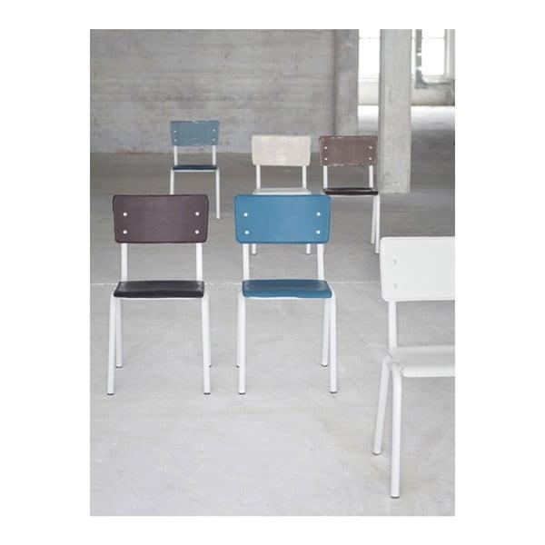 Bílá židle Serax Vinyl-Vinyl