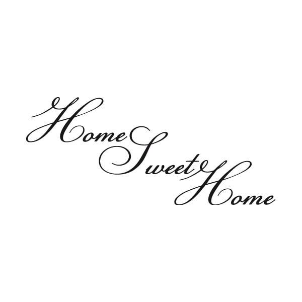 Samolepka Home Sweet Home
