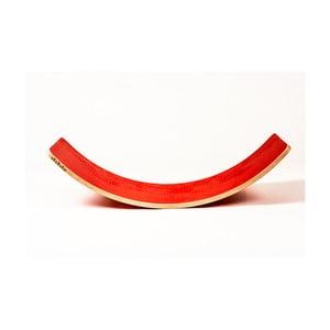 Velké červené bukové houpací prkno Utukutu Woudie, délka117cm