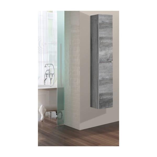 Koupelnová závěsná skříňka Column, vintage dekor