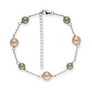 Perlový náramek Pearls Of London Elegance,19cm