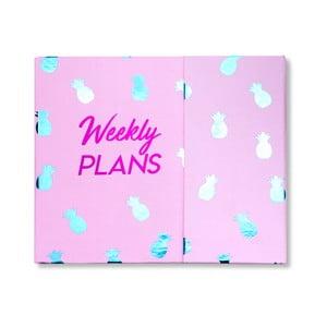Týdenní organizér Tri-Coastal Weekly Plans