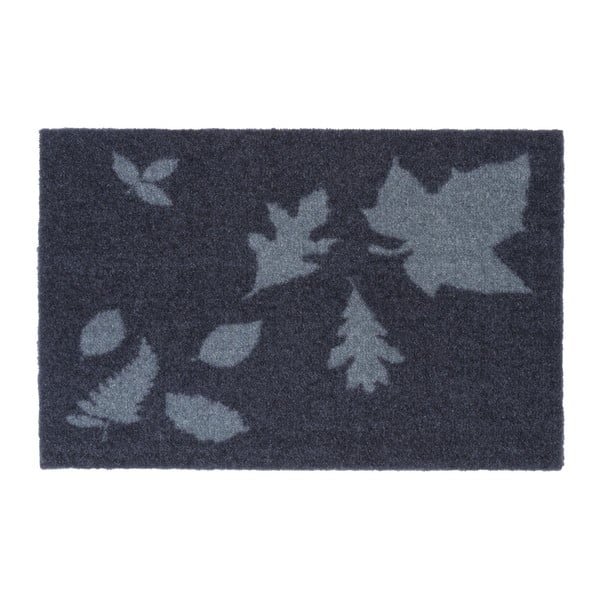 Modrošedá rohožka Tica Copenhagen Mega Leafes, 40x60cm