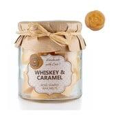 Sada 18 malých vonných svíček Whiskey and Caramel