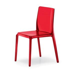 Červená židle Pedrali Blitz