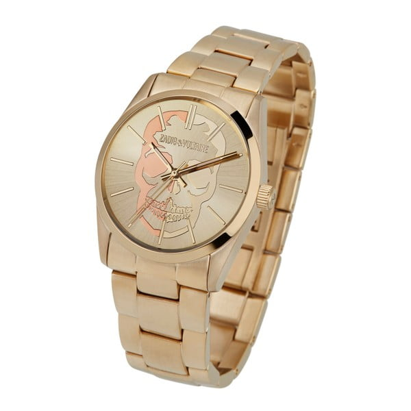 Unisex hodinky zlaté barvy Zadig & Voltaire