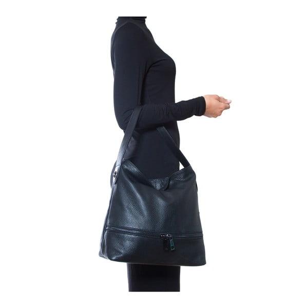 Kožená kabelka Luisa Vannini 1129 Blu